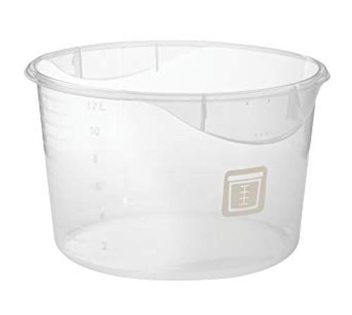 Rubbermaid Round Container - Clpp - 3.8L White