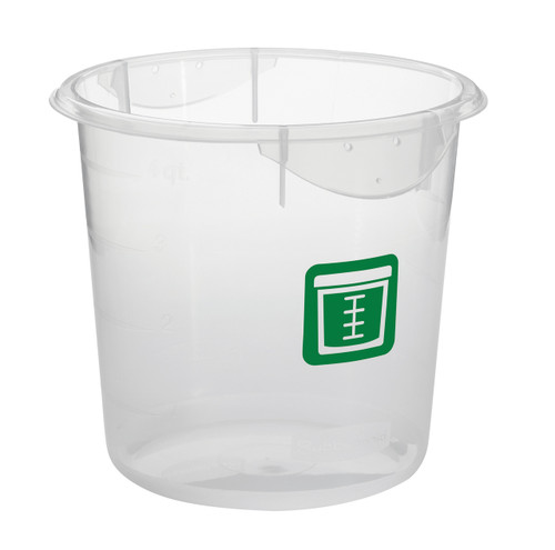 Rubbermaid Round Container - Clpp - 3.8L Green