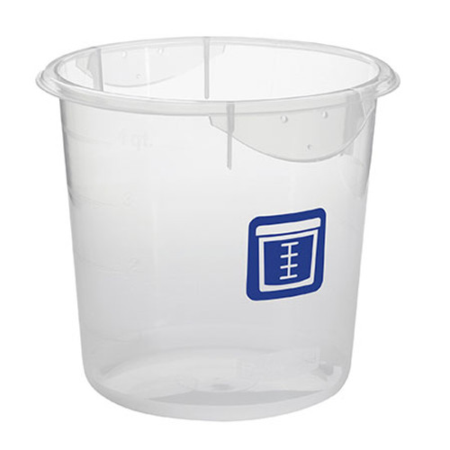 Rubbermaid Round Container - Clpp - 3.8L Blue