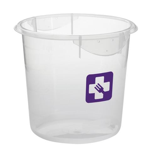 Rubbermaid Round Container - Clpp - 3.8L Purple