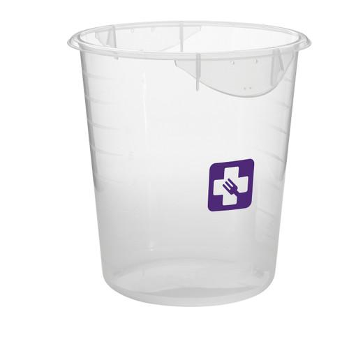 Rubbermaid Round Container - Clpp - 7.6L Purple