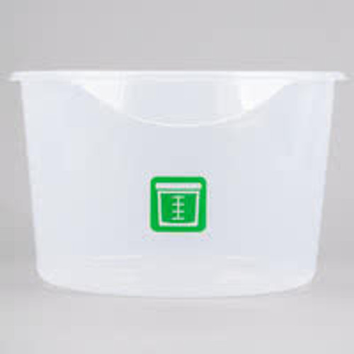 Rubbermaid Round Container - Clpp - 11.4L  Green