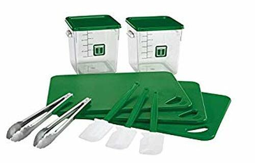 Rubbermaid Food Solution 12 Piece Green Kit