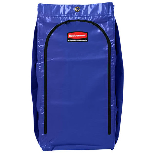 Rubbermaid Recycling Bag With Universal Recycling Symbol - Blue