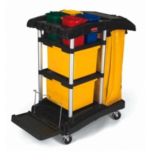 Rubbermaid Microfibre Cart - FG9T7400BLA