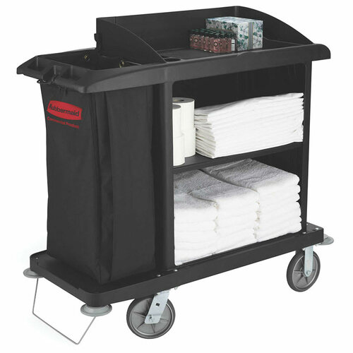 Rubbermaid Medium Housekeeping Cart