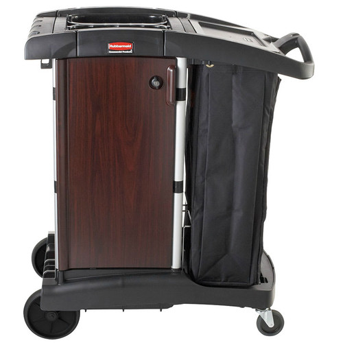 Rubbermaid Deluxe Paneled Compact Housekeeping Cart