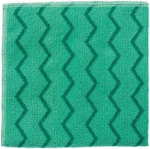 Rubbermaid Hygen Microfibre Cloth - Green