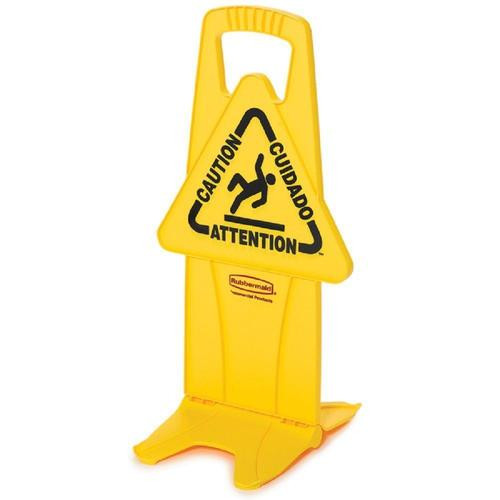 Rubbermaid Stable Safety Sign Caution