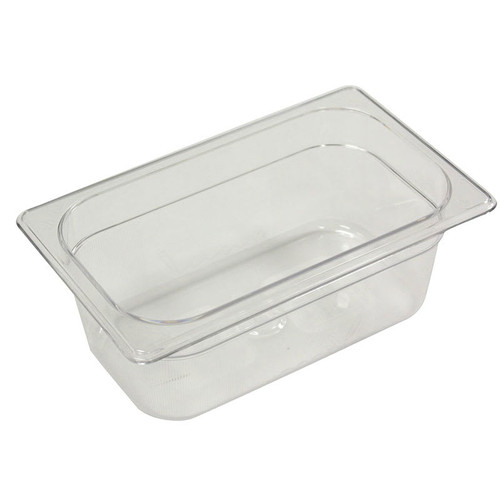 Rubbermaid Gastronorm Food Pan 1/4 100 mm