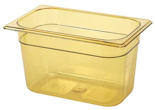 Rubbermaid Gastronorm Food Pan 1/4 150 mm - Amber