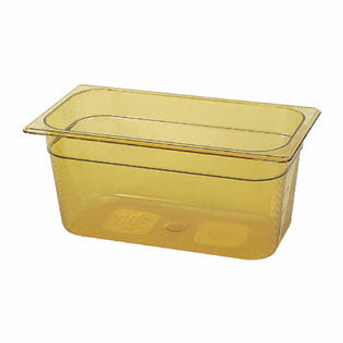 Rubbermaid Gastronorm Food Pan 1/3 150 mm - Amber