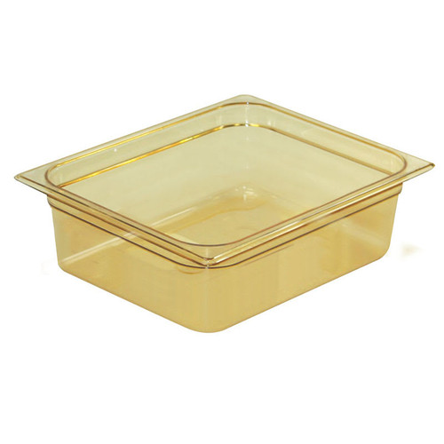 Rubbermaid Gastronorm Food Pan 1/2 100 mm - Amber