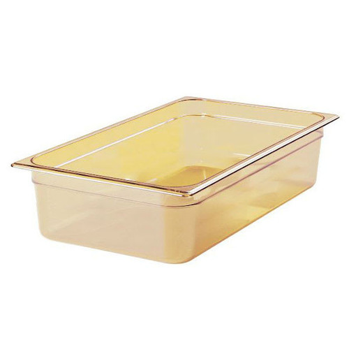 Rubbermaid Gastronorm Food Pan 1/1 150 mm - Amber