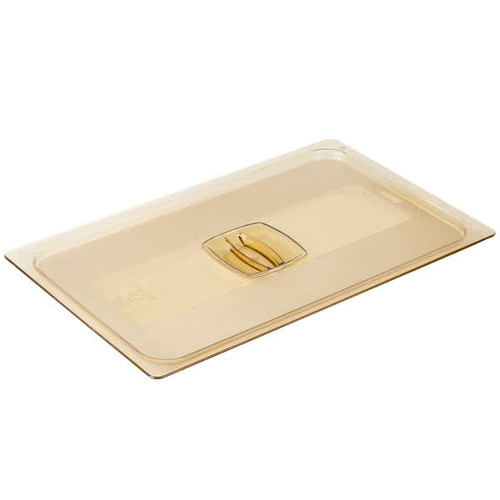 Rubbermaid Hard Cover 1/1 - Amber