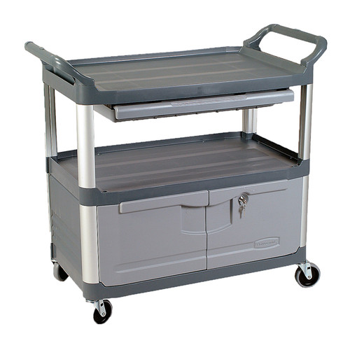 Rubbermaid X-Tra Cart Incl. Drawer + Cabinet