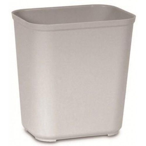 Rubbermaid Fire Resistant Wastebasket 26.5 L - Grey