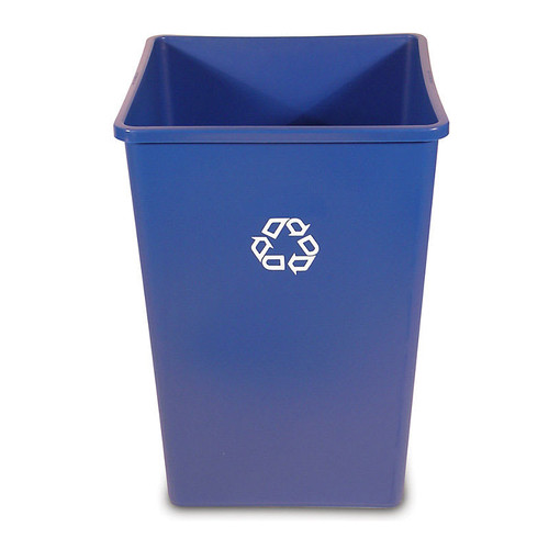 Rubbermaid Square Container 132.5 L - Blue