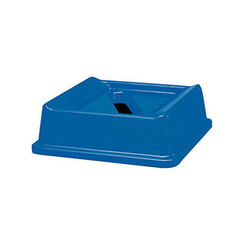Rubbermaid Paper Recycling Top fits Styleline Series - Blue
