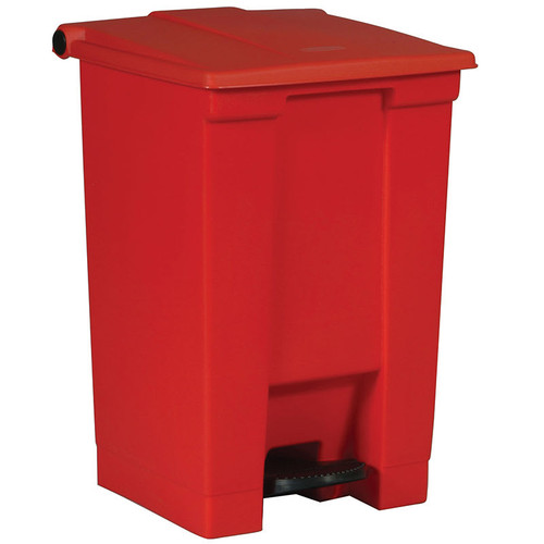 Rubbermaid Step-On Container 45L Red