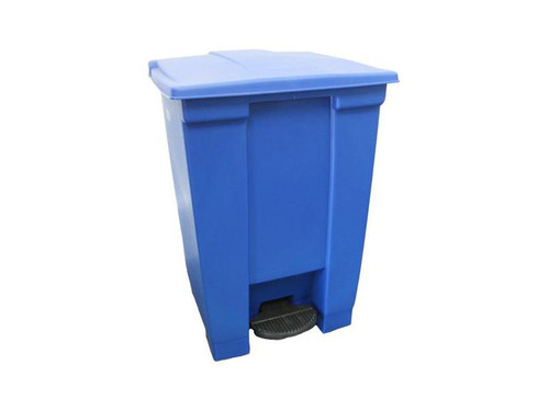 Rubbermaid Step-On Container 68L Dark Blue