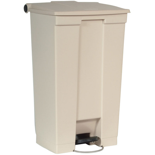 Rubbermaid Step-On Container Mobile 87L Beige
