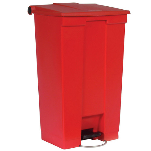 Rubbermaid Step-On Container Mobile 87L Red