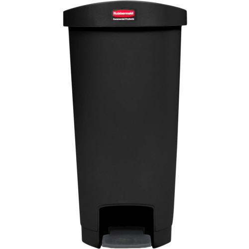 Rubbermaid Slim Jim 50L Resin End Step Step-On Black