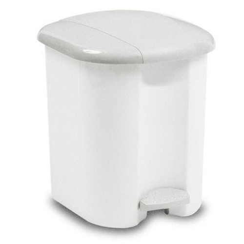 Rubbermaid Pedal Bin, 15 L With Plastic Liner