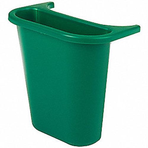 Rubbermaid Saddle Bin - Green