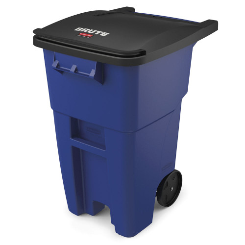 Rubbermaid Brute Rollout Container 189L Blue