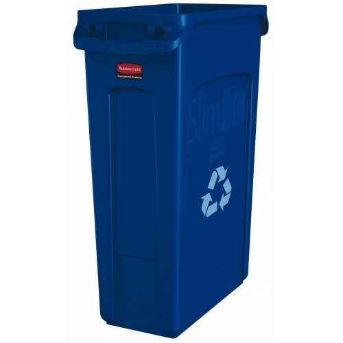 Rubbermaid Slim Jim Recycling Container 87 L