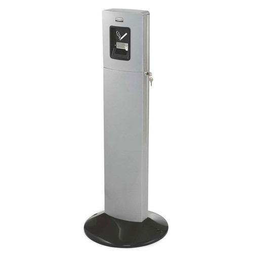 Rubbermaid Metropolitan Smokers' Station - Silver