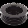46mm 4 rib serpentine pulley - hard anodized aluminum