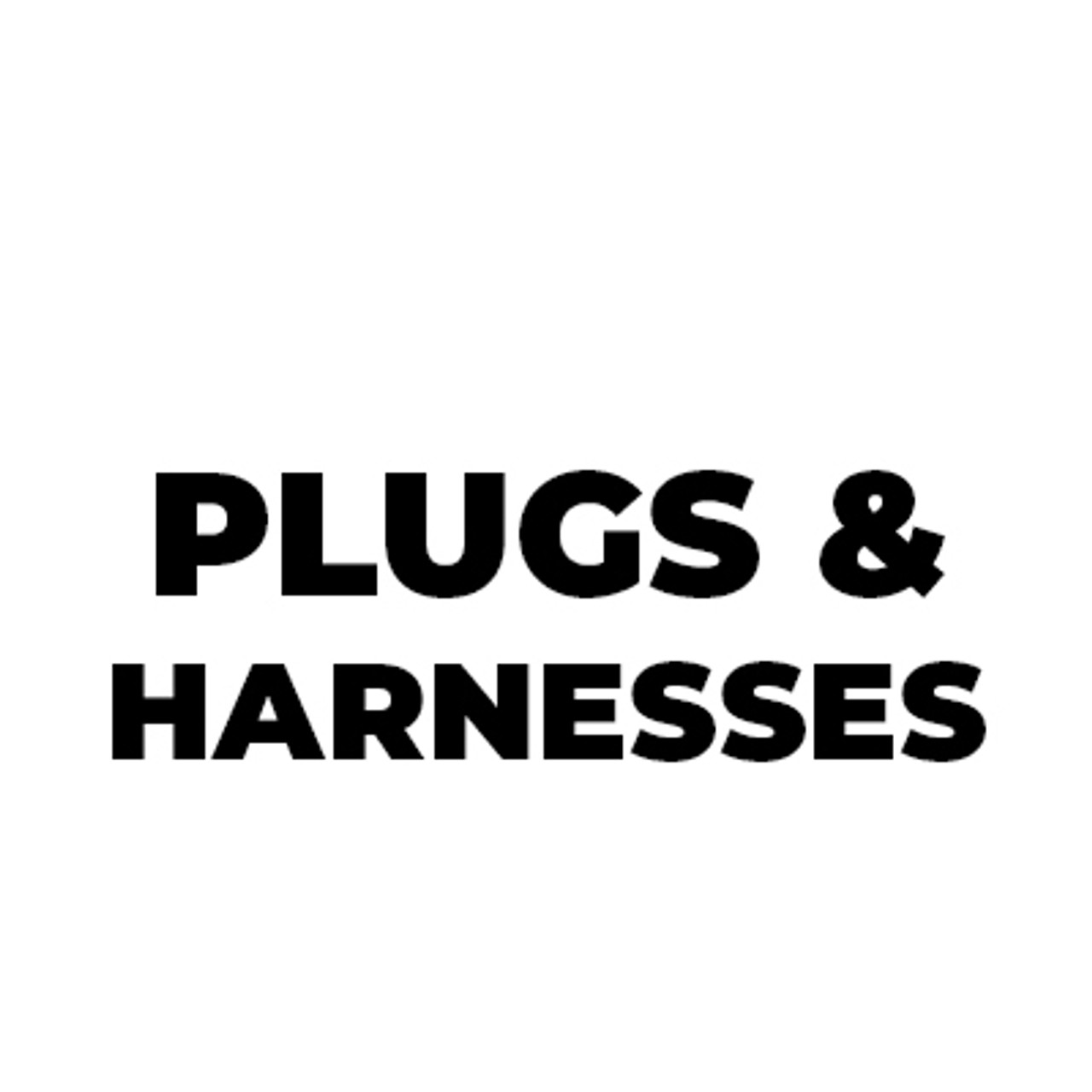 Plugs & Harnesses