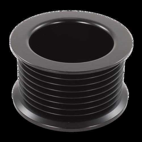 54mm 8 Rib Serpentine Steel Pulley