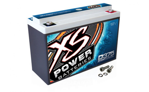 XS Power D375 12V AGM Battery, Max Amps   800A - 600W