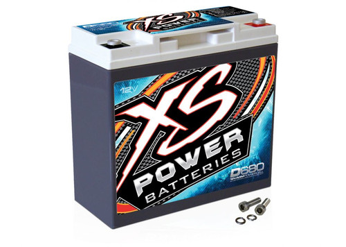 XS Power D680 12V AGM Battery, Max Amps 1000A - 1000W