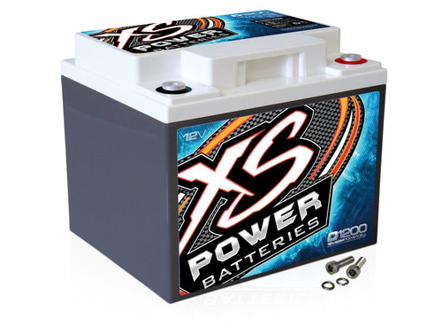 XS Power D1200 12V AGM Battery, Max Amps 2600A - 3000W