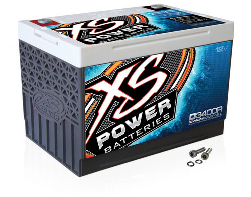 XS Power D3400R 12V AGM Battery, Max Amps 3300A - 4000W