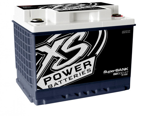 XS Power SB500-47 12V Super Capacitor Bank, Group 47, Max Power 4,000W, 500 Farad