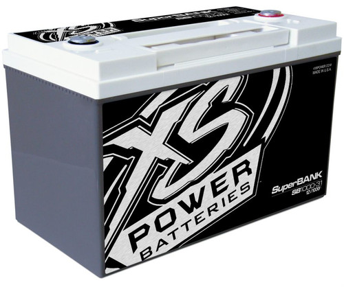 XS Power SB1000-31 12V Super Capacitor Bank, Group 31, Max Power 8,000W, 1,000 Farad