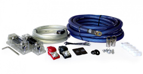 XS Power AK-2500 2 AWG, 2500-3000W Install Kit with 2, 250A Fuses and Holders
