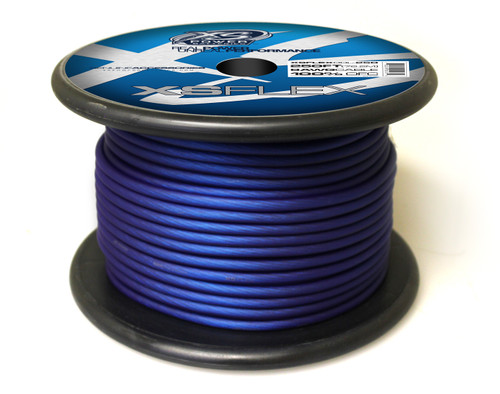 XS FLEX BLUE 8 AWG OFC CABLE 250' Spool