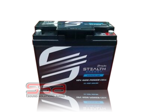 Stealth 150 (12V15AH) AGM Battery by American Bass