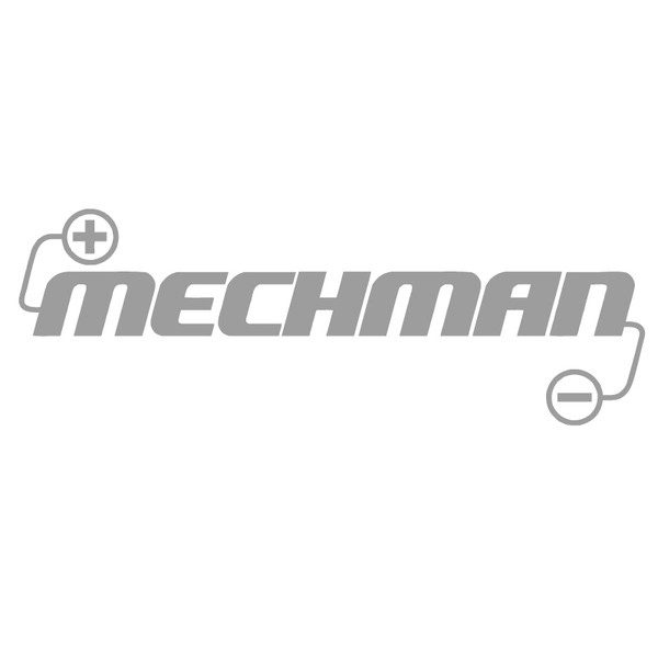 "10"" x 3.5"" Mechman Die Cut Vinyl Decal"