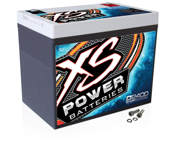 XS Power D2400 12V AGM Battery, Max Amps 3500A