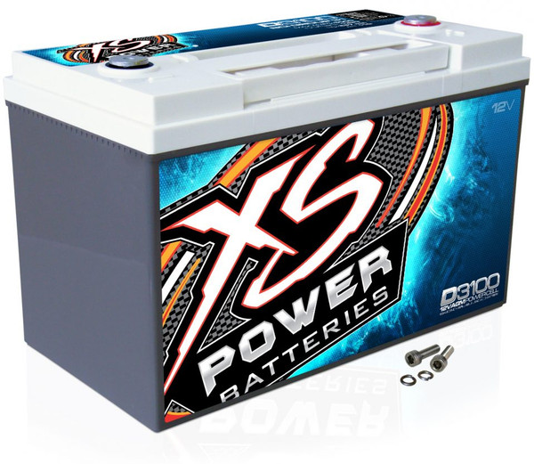 XS Power D3100 12V AGM Battery, Max Amps 5000A - 5000W+