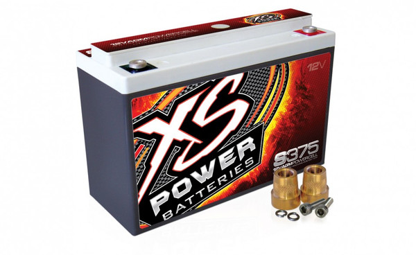 XS Power S375 12V AGM Starting Battery, Max Amps 800A  CA: 190A