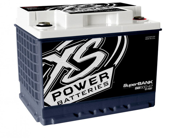 XS Power SB500-47 12V Super Capacitor Bank, Group 47, Max Power 4,000W, 500 Farad